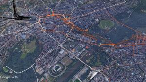 Flowbile Verkehrsanalysen: Untersuchung des Mobilitätsverhaltens im sächsischen Personennahverkehr mit Hilfe einer Tracking-APP. Forschungsprojekt in Zusammenarbeit mit der Hochschule Mittweida